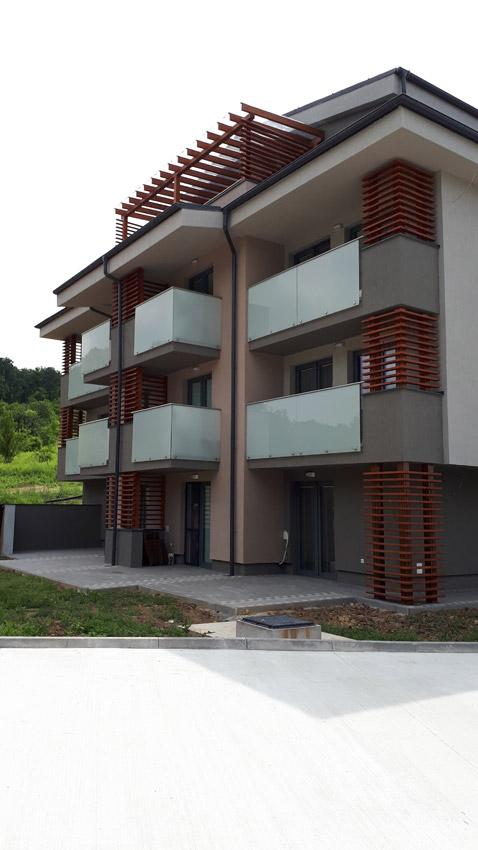 Referencia apartmánový dom Podhájska